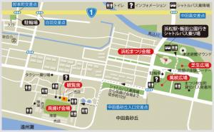 浜松まつり④会場マップ
