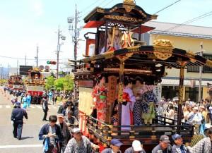 大垣祭り巡行 (2)